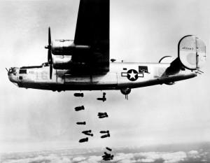 B-24 Liberator in March 1945