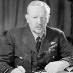 British Air Chief Marshal Sir Arthur Harris