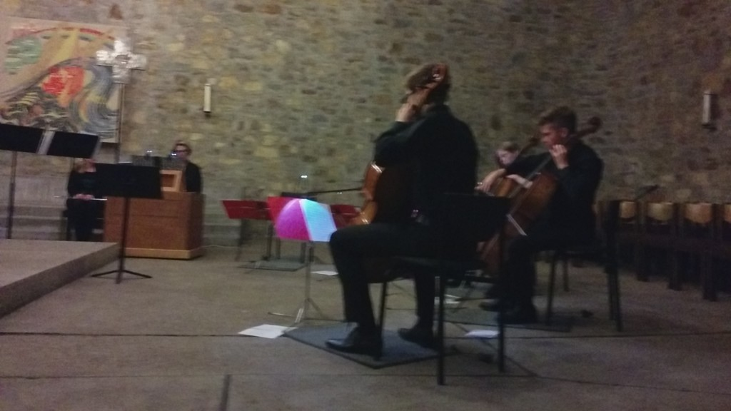 Concert at local Catholic Church. (52.240934, 8.922179)